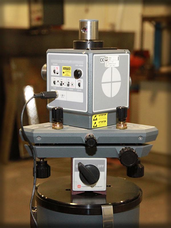 Laser Geometric Alignment superior millwright