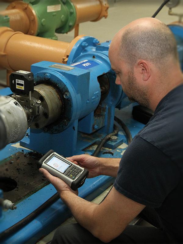 Laser Shaft Alignment superior millwright